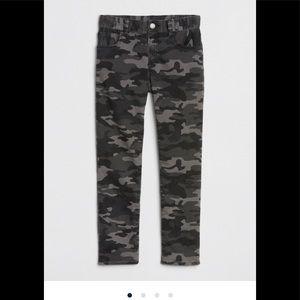 Slim camo jeans gap kids boys 12 camouflage new